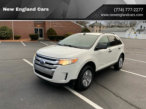 2011 Ford Edge for sale at New England Cars in Attleboro MA