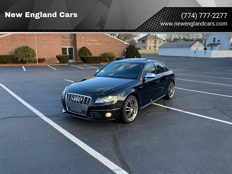 2010 Audi S4 for sale at New England Cars in Attleboro MA