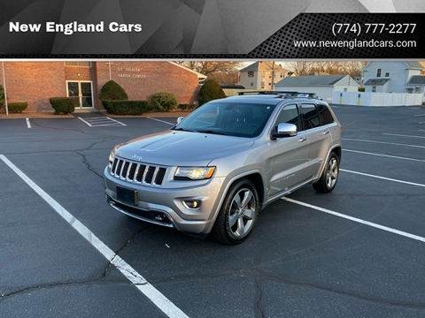 2015 Jeep Grand Cherokee for sale at New England Cars in Attleboro MA