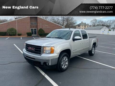 2010 GMC Sierra 1500 for sale at New England Cars in Attleboro MA