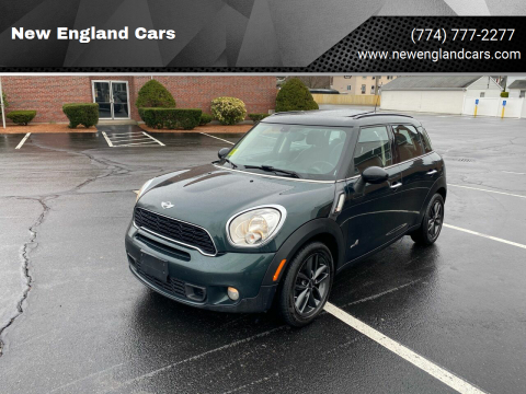 2014 MINI Countryman for sale at New England Cars in Attleboro MA