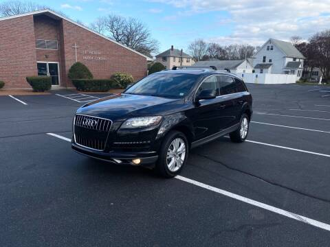 2011 Audi Q7 for sale at New England Cars in Attleboro MA