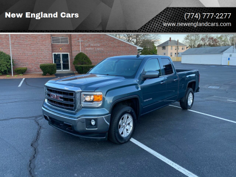 2014 GMC Sierra 1500 for sale at New England Cars in Attleboro MA
