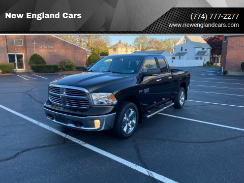 2013 RAM Ram Pickup 1500 for sale at New England Cars in Attleboro MA