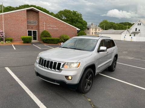 2011 Jeep Grand Cherokee for sale at New England Cars in Attleboro MA