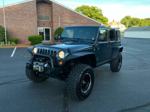 2007 Jeep Wrangler Unlimited for sale at New England Cars in Attleboro MA