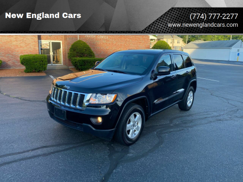 2013 Jeep Grand Cherokee for sale at New England Cars in Attleboro MA