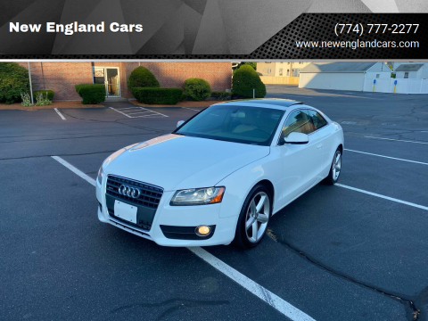 2010 Audi A5 for sale at New England Cars in Attleboro MA