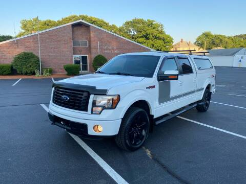 2012 Ford F-150 for sale at New England Cars in Attleboro MA