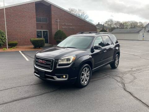 2013 GMC Acadia for sale at New England Cars in Attleboro MA