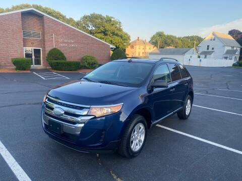 2012 Ford Edge for sale at New England Cars in Attleboro MA