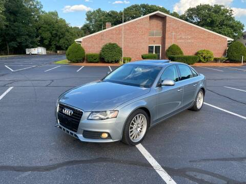 2009 Audi A4 for sale at New England Cars in Attleboro MA