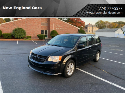 2013 Dodge Grand Caravan for sale at New England Cars in Attleboro MA
