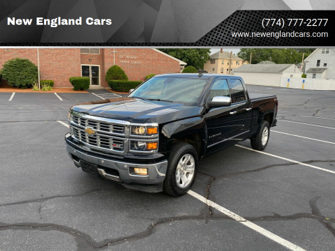 2014 Chevrolet Silverado 1500 for sale at New England Cars in Attleboro MA