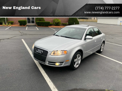 2005 Audi A4 for sale at New England Cars in Attleboro MA