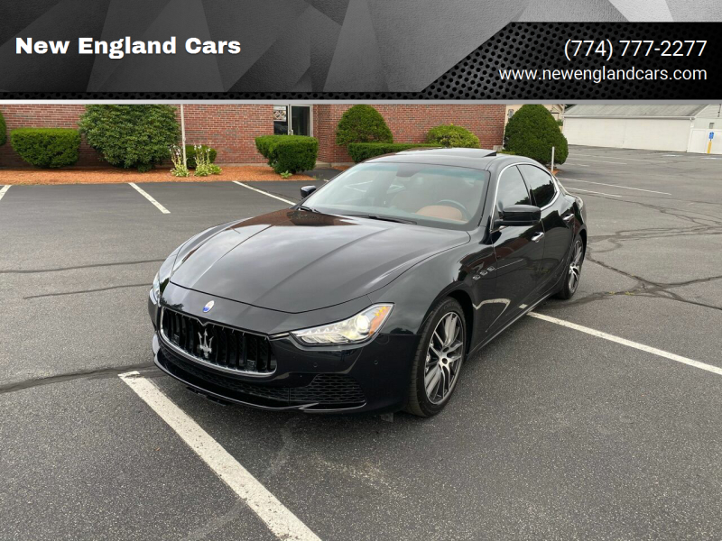 2014 Maserati Ghibli for sale at New England Cars in Attleboro MA