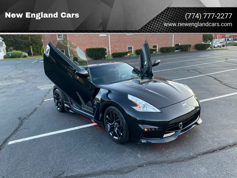 2015 Nissan 370Z for sale at New England Cars in Attleboro MA