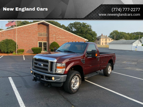 2010 Ford F-250 Super Duty for sale at New England Cars in Attleboro MA