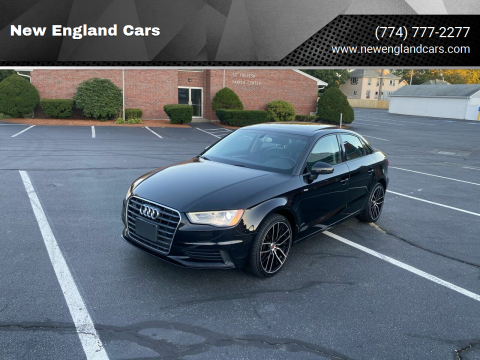 2015 Audi A3 for sale at New England Cars in Attleboro MA