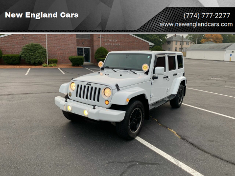 2012 Jeep Wrangler Unlimited for sale at New England Cars in Attleboro MA