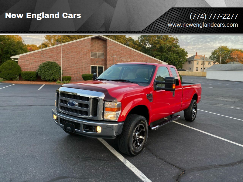 2008 Ford F-350 Super Duty for sale at New England Cars in Attleboro MA