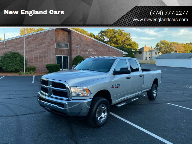 2013 RAM Ram Pickup 2500 for sale at New England Cars in Attleboro MA