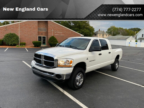 2006 Dodge Ram Pickup 2500 for sale at New England Cars in Attleboro MA