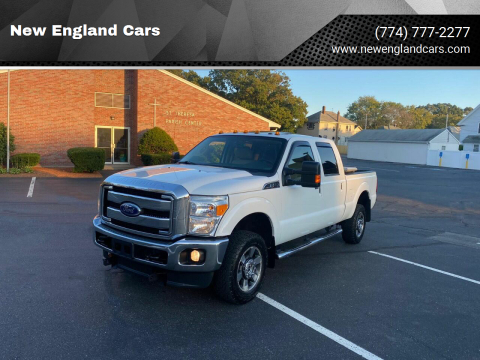 2011 Ford F-250 Super Duty for sale at New England Cars in Attleboro MA