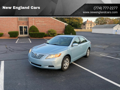 2008 Toyota Camry for sale at New England Cars in Attleboro MA