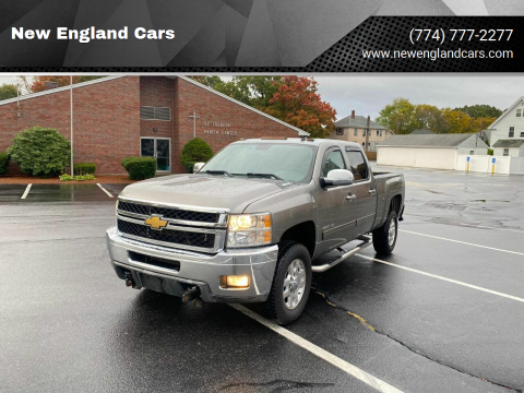 2012 Chevrolet Silverado 2500HD for sale at New England Cars in Attleboro MA
