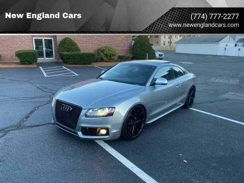 2009 Audi S5 for sale at New England Cars in Attleboro MA