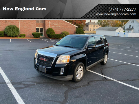 2012 GMC Terrain for sale at New England Cars in Attleboro MA
