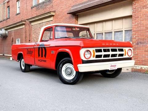 1969 Dodge D100 Pickup For Sale In Grafton Wv