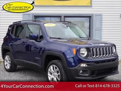 2017 Jeep Renegade for sale in Cranberry, PA