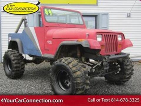 1989 Jeep Wrangler for sale in Cranberry, PA