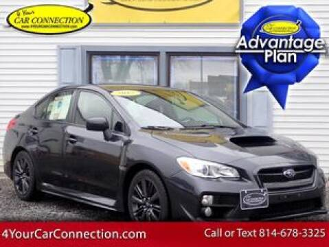 2017 Subaru WRX for sale at 4 YOUR CAR CONNECTION INC in Cranberry PA