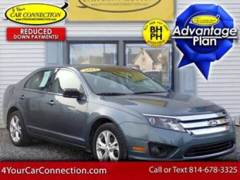 2012 Ford Fusion SE for sale at 4 YOUR CAR CONNECTION INC in Cranberry PA