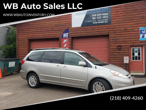 2008 Toyota Sienna for sale at WB Auto Sales LLC in Barnum MN