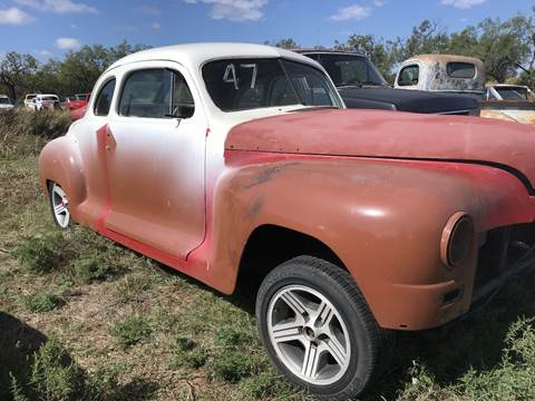 1947 Plymouth Business Coupe for sale in Winters, TX