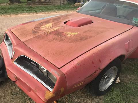 1978 Pontiac Trans Am for sale at CLASSIC MOTOR SPORTS in Winters TX