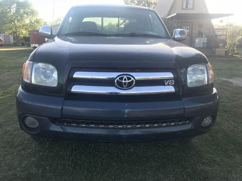 2003 Toyota Pickup for sale at CLASSIC MOTOR SPORTS in Winters TX