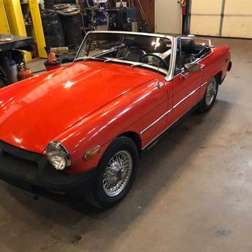 1979 MG Midget for sale at CLASSIC MOTOR SPORTS in Winters TX