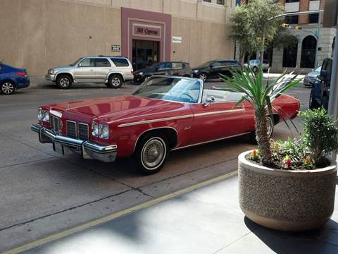 1976 Oldsmobile Delta Eighty-Eight for sale at CLASSIC MOTOR SPORTS in Winters TX