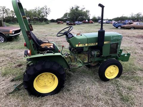 1995 John Deere 650 for sale at CLASSIC MOTOR SPORTS in Winters TX