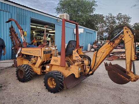 Case 360 TRENCHER / Backhoe for sale at CLASSIC MOTOR SPORTS in Winters TX
