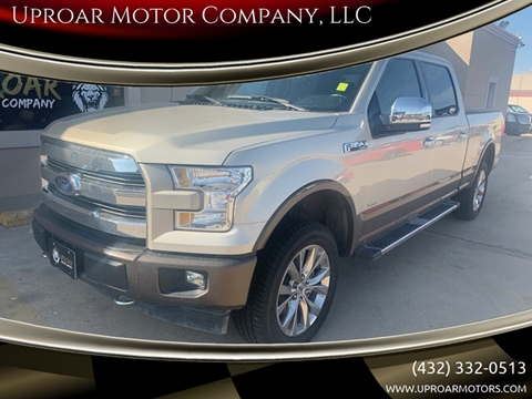Ford Odessa Tx >> 2017 Ford F 150 For Sale In Odessa Tx