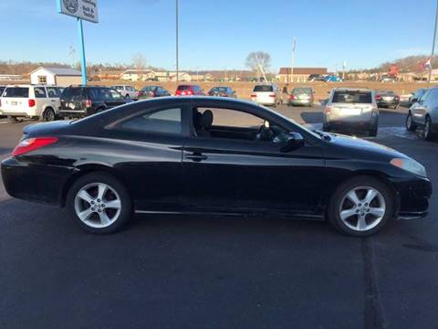 2004 Toyota Camry Solara SE V6 for sale at Cannon Falls Auto Sales in Cannon Falls MN