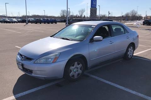 2005 Honda Accord LX for sale at Cannon Falls Auto Sales in Cannon Falls MN