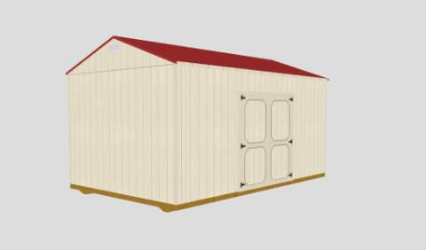 2020 Old Hickory Buildings Utility Shed for sale at Cannon Falls Auto Sales in Cannon Falls MN