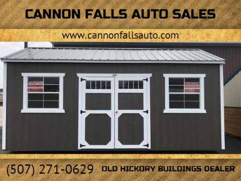 2020 Old Hickory Buildings Utility Shed 10x20 for sale at Cannon Falls Auto Sales in Cannon Falls MN